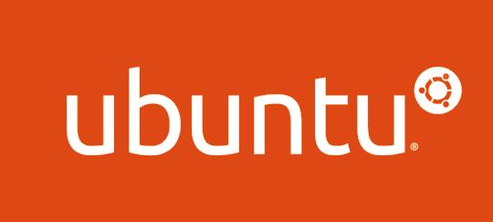Ubuntu logo orange
