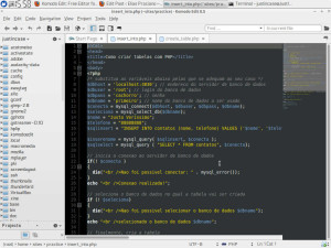 komodo editor screenshot
