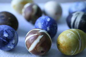 Easter egg dying by Luz Bratcher