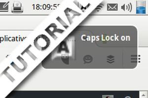 O aplicativo Indicator Keylock exibe as teclas LOCK em notebooks e teclados sem LEDs