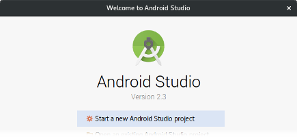 Instale o Android Studio para Linux
